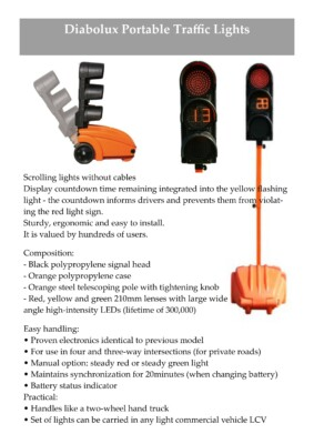 Traffic lights spec