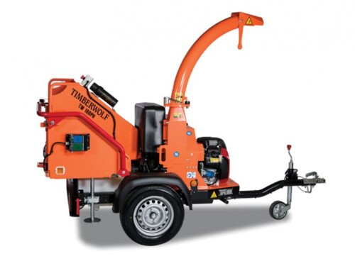 Timberwolf chipper